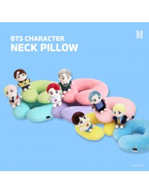 BTS CHARACTER NECK PILLOW