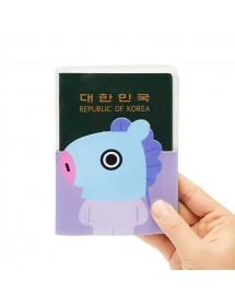 [BT21] BTS MANG TRANSPARENT PASSPORT CASE