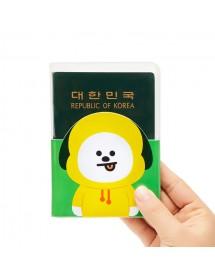 [BT21] BTS CHIMMY TRANSPARENT PASSPORT CASE