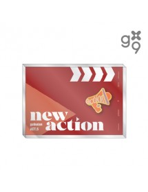 GUGUDAN - OFFICIAL BADGE ('Act.5 NEW ACTION' MD)