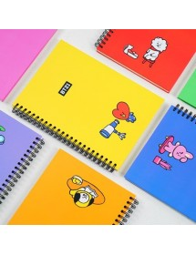 [BT21] CHARACTER SPRING NOTEBOOK