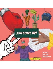 M.O.N.T 2nd Mini Album - AWESOME UP! CD