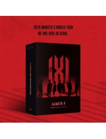 MONSTA X - 2019 MONSTA X WORLD TOUR [WE ARE HERE] IN SEOUL DVD (3 DISC)