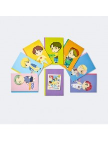 BTS CHARACTER NOTEBOOK SET ('HOUSE OF BTS' MD)