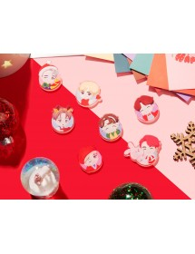 BTS HOLIDAY THEME - MAGNET SET ('HOUSE OF BTS' MD)