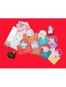 BTS HOLIDAY THEME - CARD SET ('HOUSE OF BTS' MD)